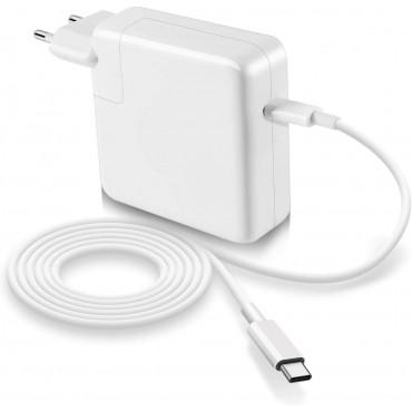 Chargeur Mac Book Pro USB C 61W 2016-2019  tablettes et Smartphones avec Ports de Type C